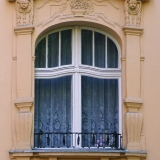 Jugendstilfenster, Wohnhaus Berlin-Friedenau, erb. 1905