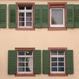 Vier Fenster und dreierlei Formen