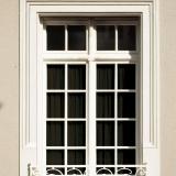 Fenster eines historischen Bauwerks